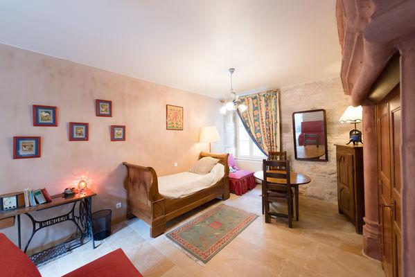 Chambre 3 - La Maison des Chanoines - Turenne - Vallée de la Dordogne