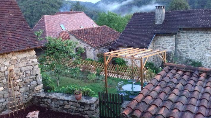 Chambre Hotes Moinard-Latouille- jardin