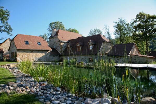 Chambre d'hôte - vue extérieure - © C.Dubarry - Hameau du Quercy -001