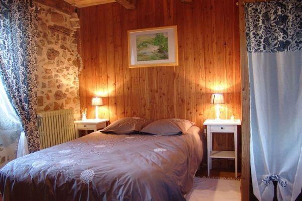 Chambre d'hôtes Espace champêtre_Chambre-bleue1
