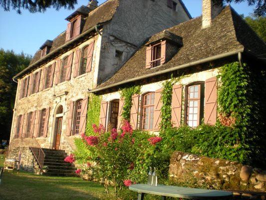 Chambre d'hôtes-Le Pradel-Façade