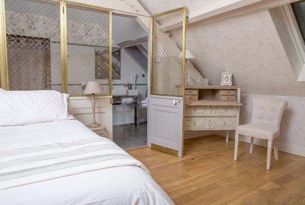 Chambre la Belle Inconnue 1  - La Bastidie - Noailhac