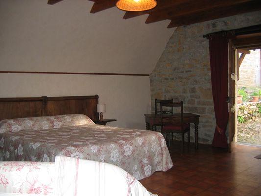 Chambres d'hôtes Mazeyrac - Chambre