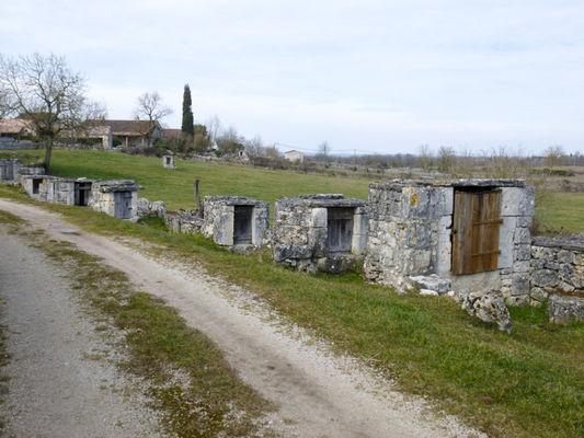Aujols - Chemin des puits