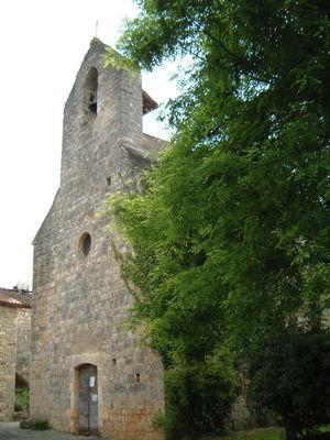 Les Junies : L'église Saint-Perdufle de La Masse