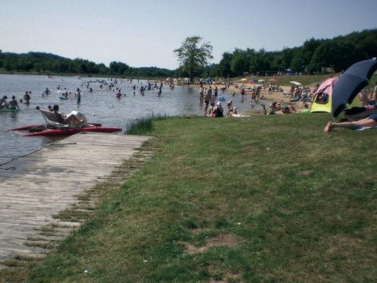 Sénaillac Latronquière : Lac du Tolerme