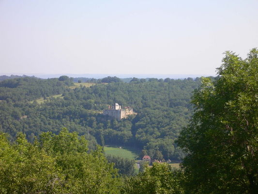 Saint Aubien de Nabirat : Chateau Ruiné du Repère