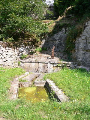 Frayssinet le Gélat : Fontaine