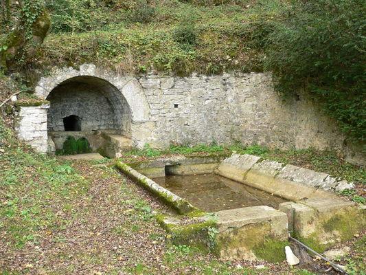 Montamel: Source et  Lavoir