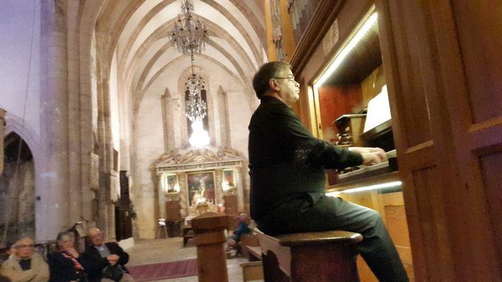 Concert d'orgue marcilhac sur Célé