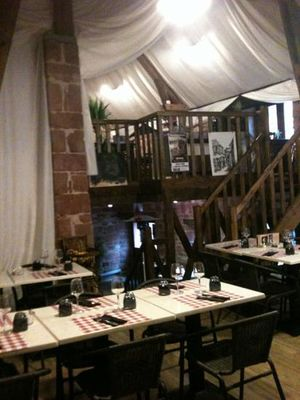 Restaurant les Pierres Rouges