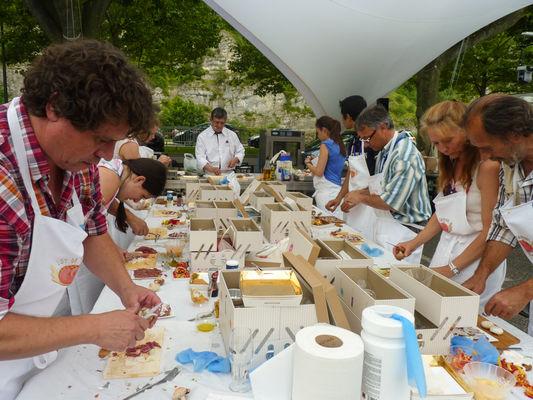 Cours de cuisine - Festival Lot of Saveurs 2014--© Lot Tourisme C. Séguy