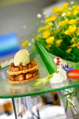 Crumble de banane façon Mamie Zouzou - Restaurant La Récréation_02