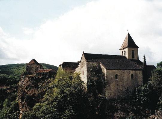 Calvignac - Eglise