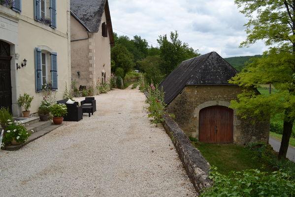 L'entrée du Manoir à Souillac