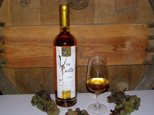 Domaine Chirac - Mage - bouteille vin paillé