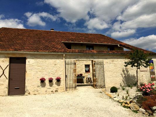 Domaine Côté Granges, façade ouest