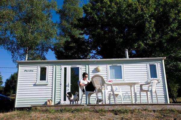 Domaine du Lac de Feyt - Servieres le Chateau - Mobil-Home