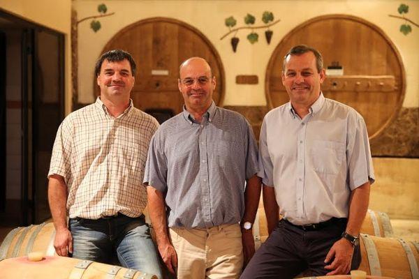 Arnaud, Francis et Didier Pelvillain