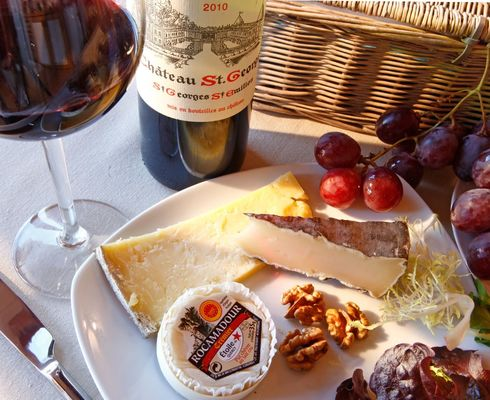 Domaine de Chanet-fromages