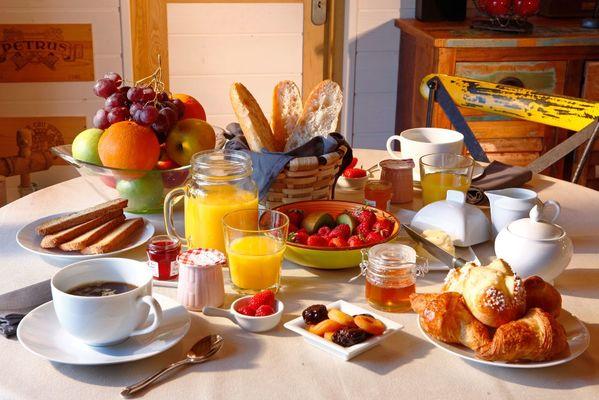 Domaine de Chanet_petit-dejeuner