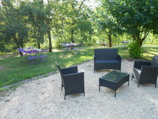 Domaines des Calosses_Salon de jardin_Extérieur