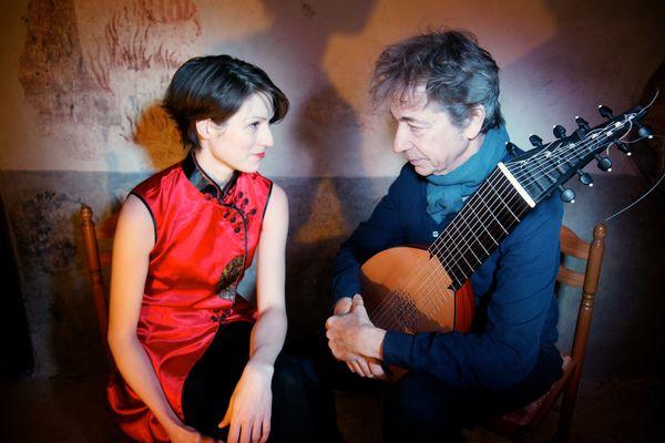 Duo Bensa-Cardinot Voice Lute Forte@Le Temps des Guitares