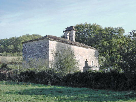 Le Boulvé : Chapelle Sainte Madeleine de Creyssens