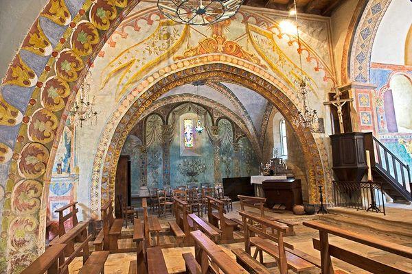 Eglise St Geaorge - St Cirq Madelon 3 - JM Caron