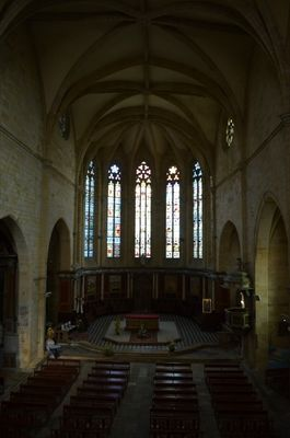 Eglise St Pierre - interieur
