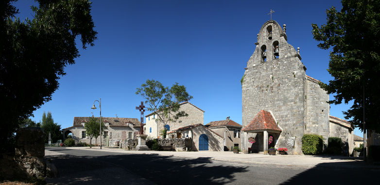 Eglise de Cambayrac - Lot Tourisme - J. Morel -001