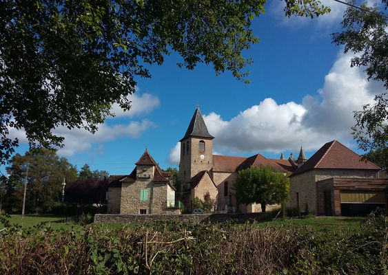 Eglise de Rueyres_17 © Lot Tourisme - A. Leconte
