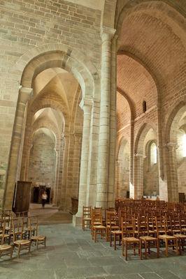 EgliseAbbatialeAubazine-vue-interieure