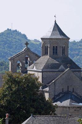 EgliseAbbatialeAubazine-clocher