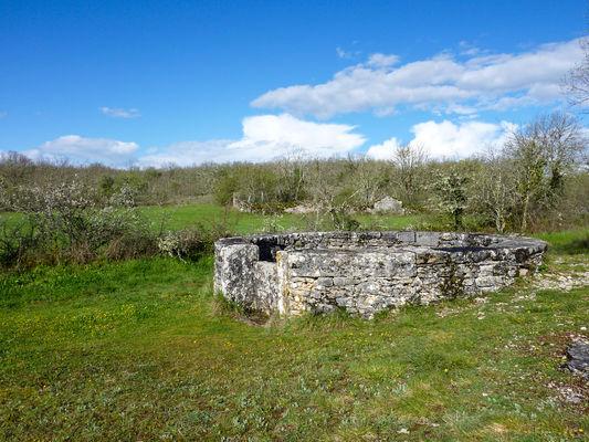 Escabasse - Les puits romains à l'escabasse © Lot Tourisme - C. Sanchez