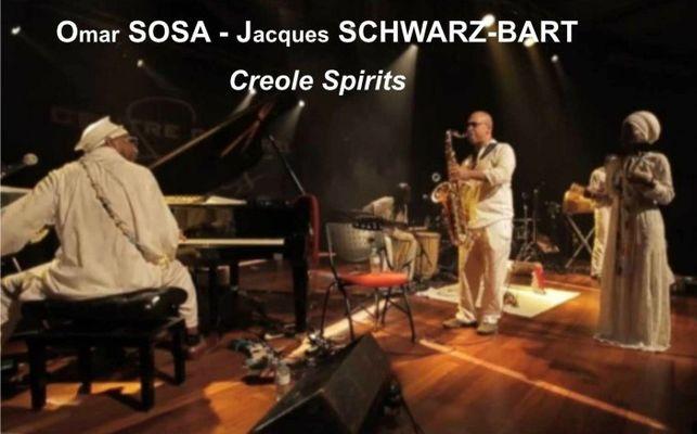 Omar Sosa et Jacques Schwarz-Bart