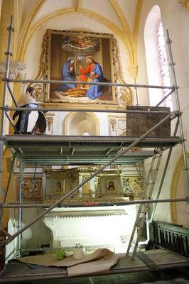 Le retable Saint-Joseph