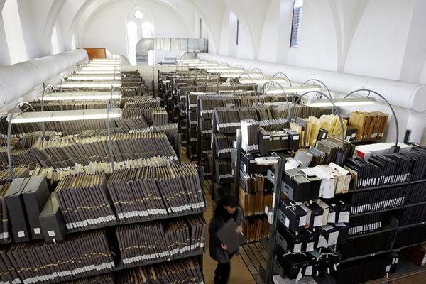 Découverte et compréhension d'un bâtiment d'archives