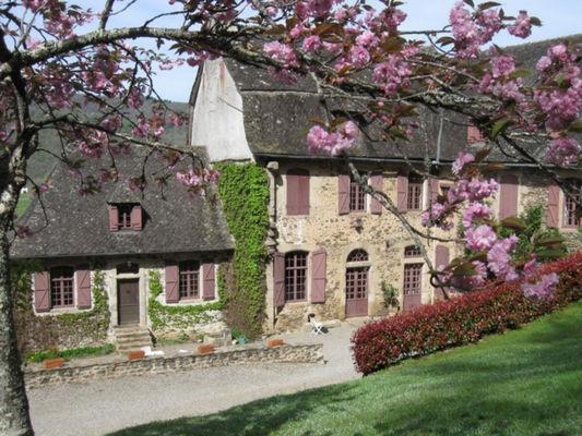 Facade - Le Pradel - Monceaux-sur-Dordogne