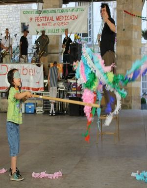 Festival Mexicain Enfant Pinata