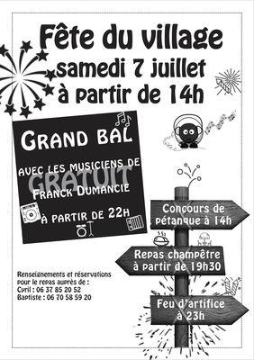 Fête à Saint-Jean Lagineste