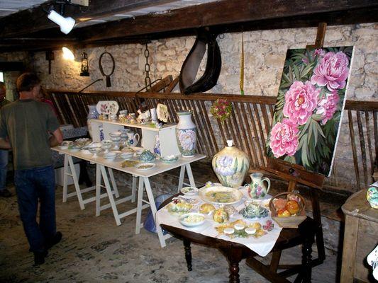 Galerie Lou Cantou - Tableaux Roses