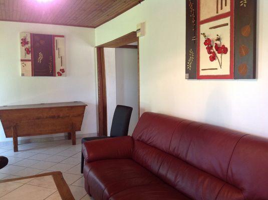 Gîte Mme Parlant-Guillotie-Argentat_salon