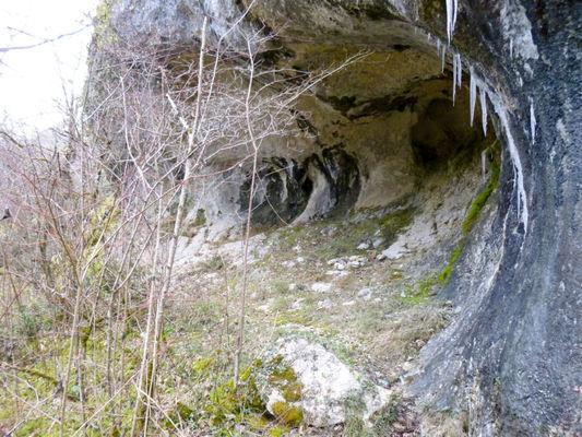 Aujols - Grotte des Conquettes