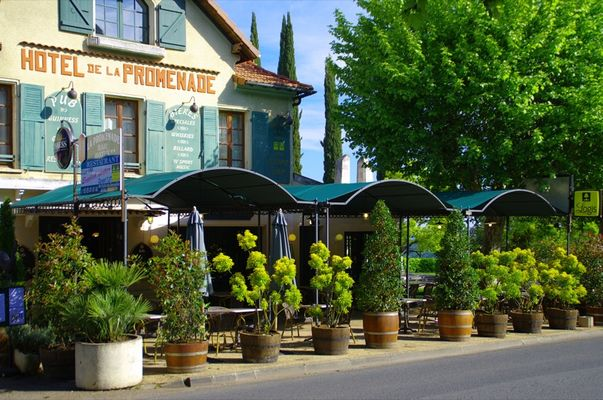 H tel restaurant la promenade gourdon pays de gourdon tourisme - Office du tourisme gourdon ...