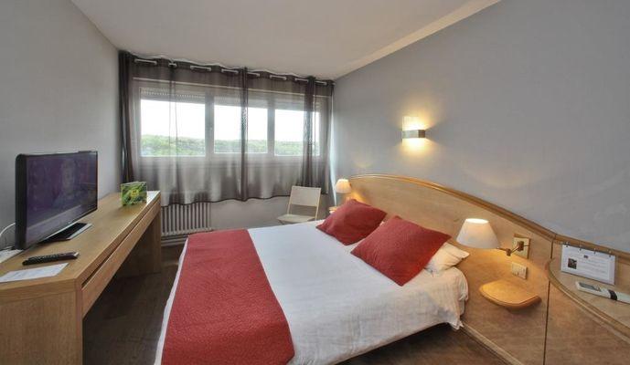 Hotel le Ballaroc - rocamadour - chambre