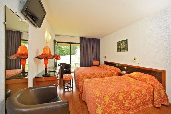 Hotel le Chateau-Rocamadour-chambre triple supérieure
