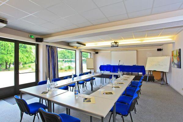 Hotel le Chateau-Rocamadour-salle de réunion