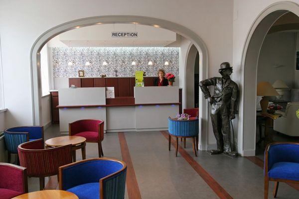 Hôtel restaurant-Le sablier du temps-accueil
