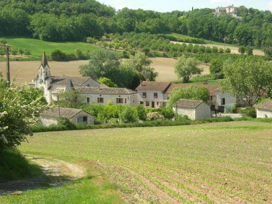 Bagat en Quercy - Eglise